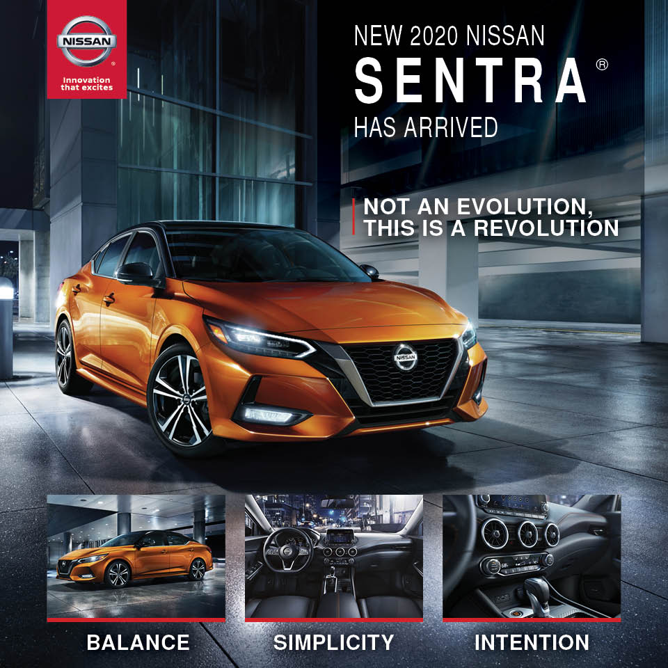 New Sentra Has Arrived