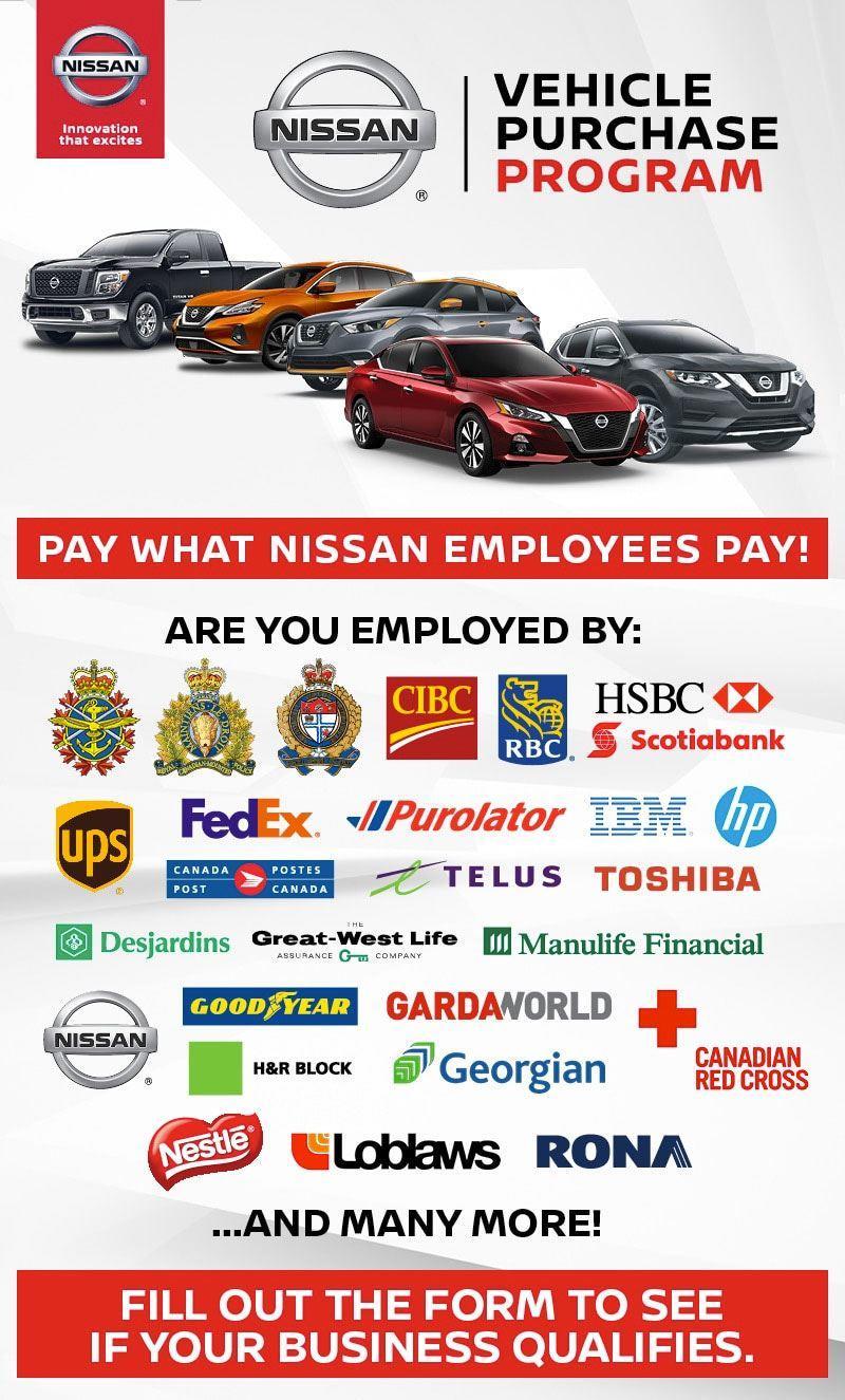 Nissan Vehicle Purchase Program
