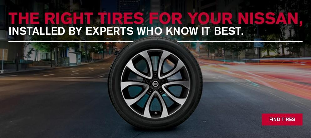 Online Tire Store at Fish Creek Nissan